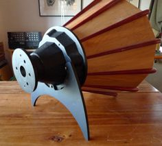 AH! 300 by Acoustic Horn Co. from Bill Woods! Conical Wooden Horn with no Honkey Shout!