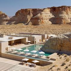 Amangiri Resort Utah ⠀ ⠀ Photography by @amangiri