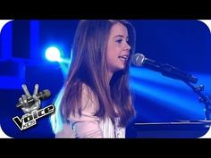 Ariana Grande - Almost Is Never Enough (Chiara) | The Voice Kids 2014 | Blind Audition - YouTube
