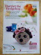 Little Hedgehog Pincushion Knitting Pattern (DK)