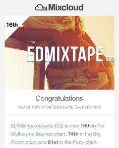 Thx for supporting #EDMixtape episode 002 #edmfamily !  http://bit.ly/edmixtape002
