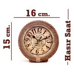 Hasır Masaüstü Saat 33,60 TL ve ücretsiz kargo ile n11.com'da! Ev