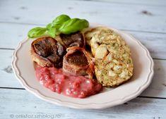 Őz szűzpecsenye szalvétagombóccal és ribizli mártással Meat, Food, Essen, Meals, Yemek, Eten