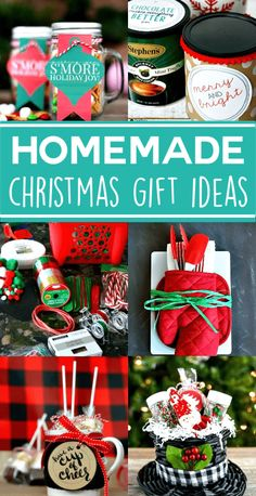 These Homemade Christmas Gift Ideas are inexpensive to make and personalize, mak. - These Homemade Christmas Gift Ideas are inexpensive to make and personalize, making gift giving eas - Easy Homemade Christmas Gifts, Inexpensive Christmas Gifts, Christmas Gifts To Make, Diy Holiday Gifts, Cheap Christmas, Handmade Christmas Gifts, Cool Christmas Gift Ideas, Christmas Carol, Christmas Gifts For Neighbors