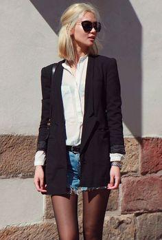 blazer um estilo moderno.