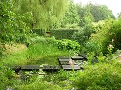 The Gardens of Mien Ruys in Dedemsvaart, the Netherlands.