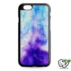 Purple Blue Watercolor iPhone 6 Case   iPhone 6S Case