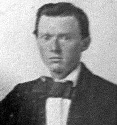 (Dr.) James Randolph Medlock (1837-1913). Served as a Soldier for the Confederacy in the American Civil War with Company K Arkansas 1st Infantry. Married to Martha Adams, daughter of Mary Stovall Berry, the sister of Blackburn Henderson Berry. Later moved to California and was an early physician in the Los Angeles area. Also was a fruit grower. Photo taken in the 1860's.