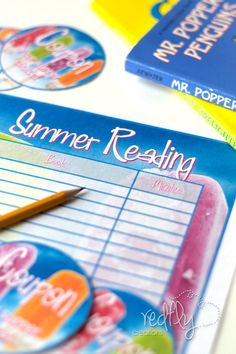 Create your own Summer Reading Program with these Free Printables!!