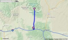 Driving Directions from Williams, Arizona to Grand Canyon, Arizona | MapQuest