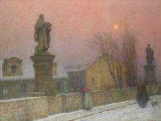 Jacub Schikaneder - Bohemian painter  February 27, 1855, November 15, 1924, Prague, Czech Republic