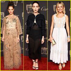 Katie Holmes, Rooney Mara & Sienna Miller Get Glam for Cartier Fifth Avenue…