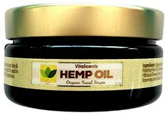 VitaScents Hemp Oil overnight Facial Serum Moisturizer VitaScents…