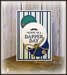 Hello 😊 I am hopping today with the SDBH crew. Our theme for the month is Favourite Designer Series Paper. My fave constan. Masculine Birthday Cards, Birthday Cards For Men, Masculine Cards, Male Birthday, First Communion Cards, Step Cards, Hand Stamped Cards, Boy Cards, Beautiful Handmade Cards