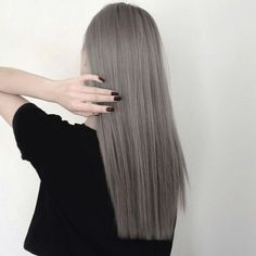 beauty, colored hair, fashion, grey hair, hair