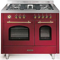 Double Oven Gas Range cooker
