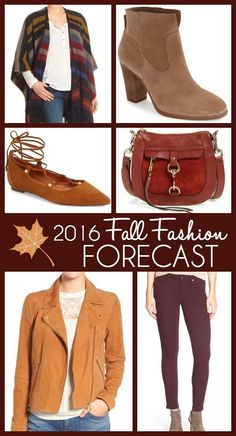 Here's my fall fashion forecast for 2016 -- 15 wearable trends for real life! Fashion for Women Over 40