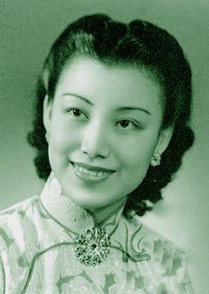 Movie star Luming  影星--路明-老上海电影明星