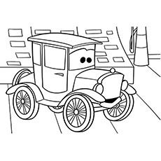 crazy car coloring pages - photo#25
