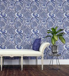 Liberty Wallpaper | New this week | Patricia Anne Wallpaper by Liberty Art Fabrics | Jane Clayton