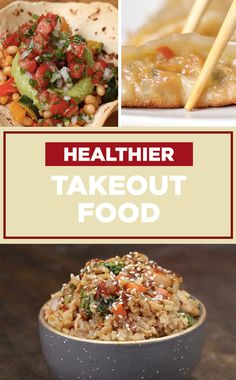 Make these healthier versions of your favorite take-out foods! ✨