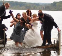 Before Disaster Strikes Wedding Photograph