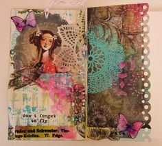 Lovely! Bohemian Journaling by Gayle mixedmediaplace.blogspot.com