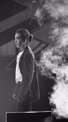 Lee donghae of Super Junior with that long hair. Lee Donghae, Leeteuk, Heechul, Taemin, Super Junior Songs, Donghae Super Junior, Btob, Programa Musical, Paradise City