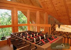 Bear Country Cabin - This 2 bedroom cabin has beautiful furnishings and so much entertainment! Relax and enjoy the Smoky Mountains! http://www.jacksonmountainhomes.com/gatlinburg-cabins/rentals/bear-country-cabin/36/alpha