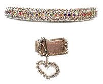 Glitter 4 Your Critter Rhinestone Cat Safety Collars, Beautiful Imported Czech Crystal Collars For Cats