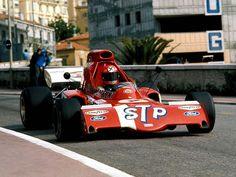 Niki Lauda, March 721-Ford- Cosworth, #4, (finished 16), Monaco GP, 1972.