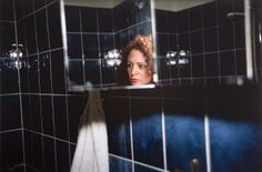 Nan Goldin,Self Portrait in the Blue Bathroom,1991