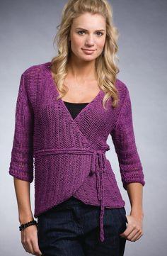 Purple Wrap Crochet pattern by The Crochet Dude.