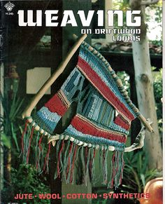Weaving on Driftwood Looms Weaving Pattern Book H-245 by grammysyarngarden on Etsy