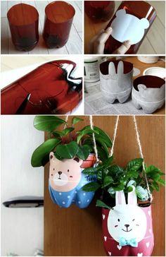 40 Cool Ways To Upcycle And Reuse Plastic Bottles Diy Projects Plastic Bottles, Reuse Plastic Bottles, Plastic Bottle Crafts, Reduce Reuse Recycle, Upcycle, Diy Bottle Lamp, Diy Magazine Holder, Cool Diy Projects, Plant Holders