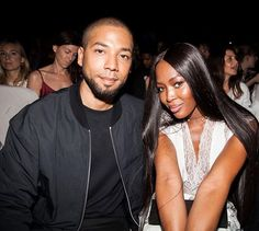 Spotted at the #HoodByAir show: @NaomiCampbell, @JussieSmollett. #NYFW #FashionWeek Sunday 11 September 2016. * * * #JussieSmollett #handsome #wellgroomed #beard #dimples #unique #personality #RARE  #charisma #activist #passion #purpose #love #heart #different #selfless #Empire #humble #gentleman #LotsofLoveforJussie #NaomiCampbell #Model #Fashion #NYC #NewYork #Glits #Glam