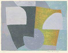 Serge Poliakoff, 1954