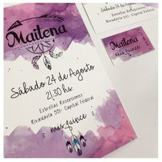 Tarjetas e Invitaciones - Foto Nº: 3 de tarjetas e invitaciones de Neko Producciones - Invitaciones Clasicas Quinceanera Planning, Debut Ideas, Diy And Crafts, Paper Crafts, Ideas Para Fiestas, 15th Birthday, Floral Wedding Invitations, Invitation Cards, Wedding Cards