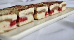 jahody Russian Recipes, My Recipes, Nutella, Tiramisu, Waffles, Cheesecake, Sweets, Homemade, Baking