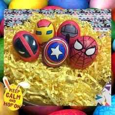 Easter eggs (marvel, avengers)