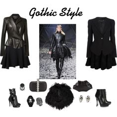 """Gothic Style"" by marianariva on Polyvore"