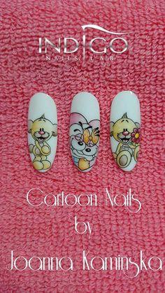 Joanna Kamińska, Italy. Find more Inspiration at www.indigo-nails.com #nails #icon #mani