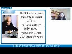 """Hatikvah"" Modern Hebrew Webinar | by eTeacherHebrew.com"