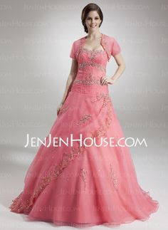 Quinceanera Dresses - $186.69 - A-Line/Princess Sweetheart Floor-Length Satin  Tulle Quinceanera Dresses With Lace  Beading (021004558) http://jenjenhouse.com/A-line-Princess-Sweetheart-Floor-length-Satin-Tulle-Quinceanera-Dresses-With-Lace-Beading-021004558-g4558