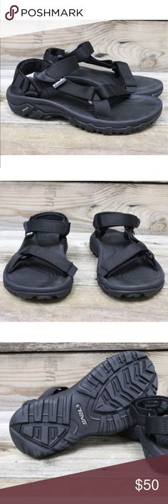TEVA Original Hurricane XLT Black Sandals US 6 🐲 New in box and authentic 🌵 Teva Shoes Sandals