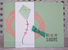 Swirly Kite - Stampin' Up! Swirly Bird