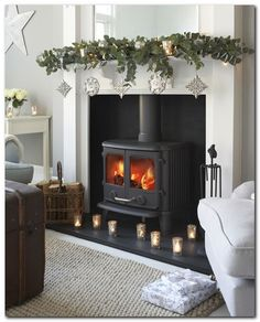 Latest Pic Fireplace Hearth log burner Style Awesome Antique and Durable House Interior for Your Parents Home Awesome Ant Wood Burner Fireplace, Fireplace Hearth, Fireplaces, Fireplace Ideas, Morso Stoves, Hearth Pad, Christmas Fireplace, Christmas Wood, Christmas 2019