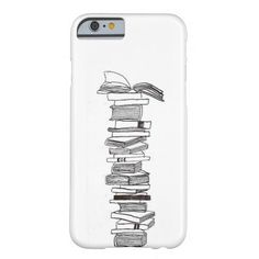 The drawing on the iPhone case shows a pile of books. Perfect for somebody who loves to read! (It is available for different kind of cellphones) Pile Of Books, 6 Case, Iphone 4, Iphone Case Covers, Book Lovers, My Design, Book Drawing, Products, Gadget