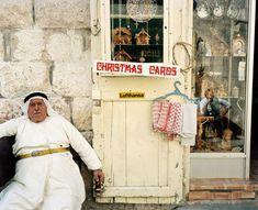 Bethlehem, Palestine, 1986. Martin Parr
