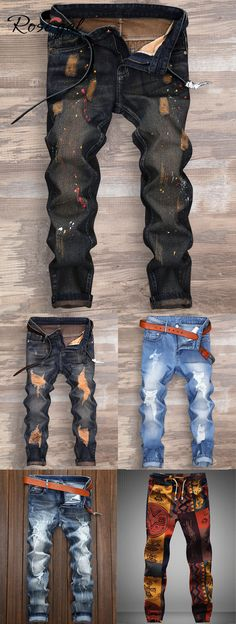 Splatter Paint Ripped Nine Minutes of Jeans homme Jeans Minutes Paint Ripped Splatter - cakerecipespins. Jeans Und Converse, Jeans Und Sneakers, Jeans Shoes, Blazer Jeans, Ripped Jeans Men, Men's Jeans, Cool Outfits, Casual Outfits, Fashion Outfits